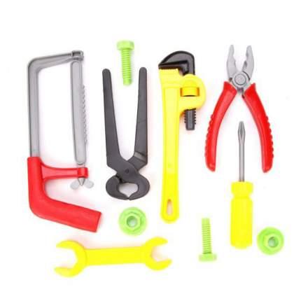 НАША ИГРУШКА Набор инструментов, 10 предметов 2093-56
