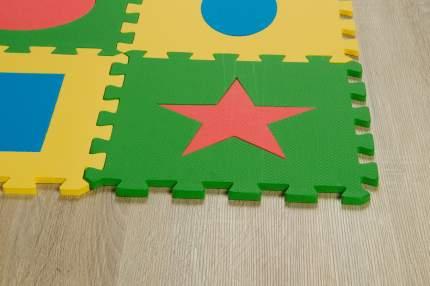 Мягкий коврик-пазл Eco Сover Геометрия