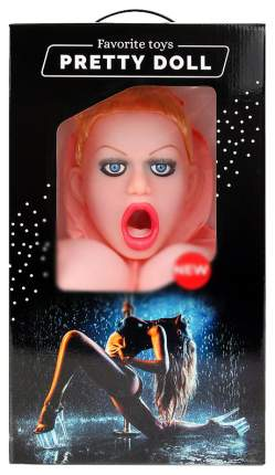 Надувная секс-кукла Bior toys Диана с вибрацией