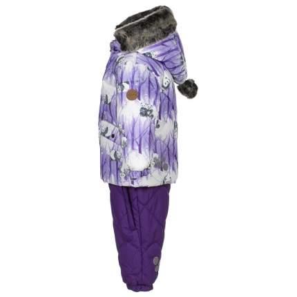 Комплект верхней одежды Huppa, цв. фиолетовый р. 80