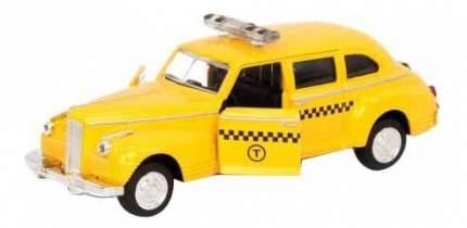 Машинка инерционная, металлическая Play Smart Такси, 14х5,7х7 см
