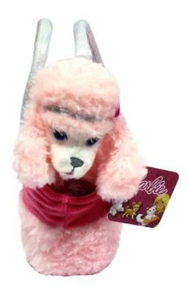 Мягкая игрушка 1 TOY Barbie плюшевая 18 см собачка пудель в сумочке