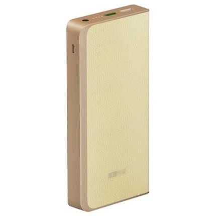 Внешний аккумулятор InterStep PB12000QC 12000 мА/ч (IS-AK-PB1208QCW-000B21) Beige