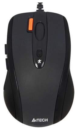 Проводная мышка A4Tech N-70FX Black