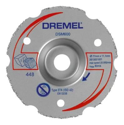 Отрезной диск по камню для угловых шлифмашин DREMEL 2615S600JA
