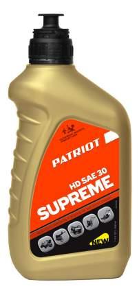 Для четырехтактных двигателей PATRIOT SUPREME HD SAE 30 4Т 850030598