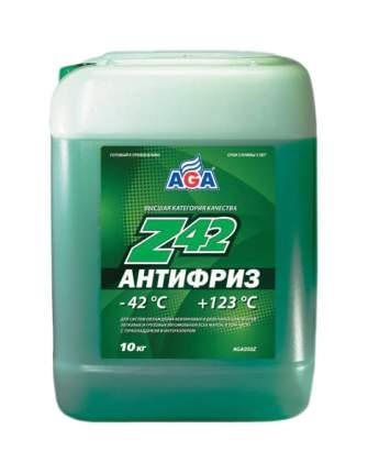 Антифриз AGA G11зеленый готовый 10л