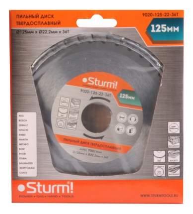 Пильный диск по дереву  Sturm! 9020-125-22-36T