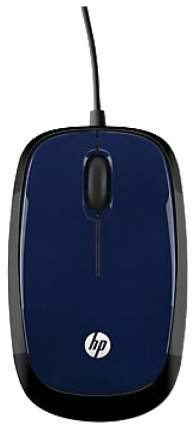 Проводная мышка HP X1200 Blue/Black (H6F00AA)