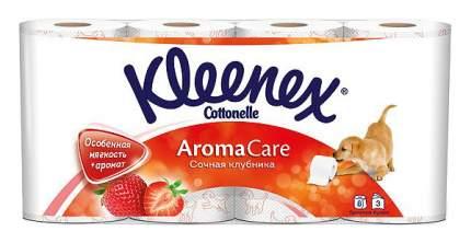 Туалетная бумага Kleenex Cottonelle Aroma Care Клубника 8 шт.
