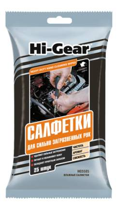 Салфетки для рук Hi Gear 25шт HG5585