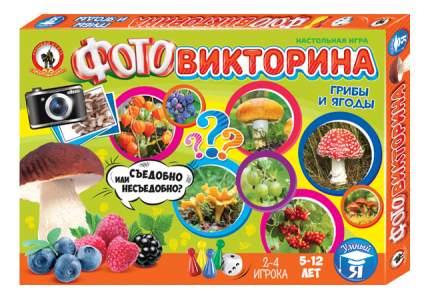 Семейная настольная игра Русский Стиль Грибы и ягоды