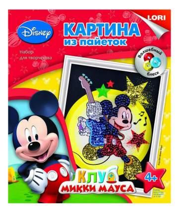 Аппликация из страз, пайеток LORI Disney Микки Маус