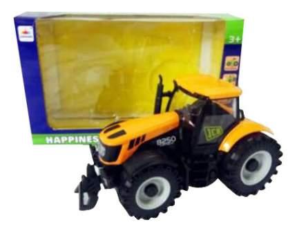 Трактор 1:32 желтый