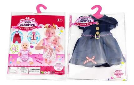 Платья и юбки для кукол Junfa toys синее GC18-29