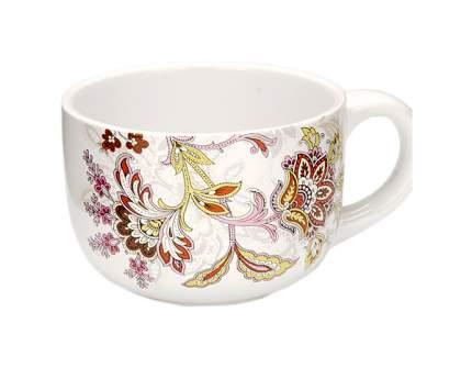 Супница Loraine 24841 Белый, коричневый, розовый