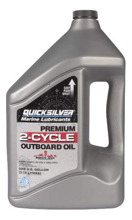 Моторное масло Quicksilver Premium 2-Cycle Outboard Oil TC-W3 5W-30 4л