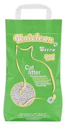 Впитывающий наполнитель для кошек Uniclean Extra цеолитовый, 3.1 кг, 4.5 л