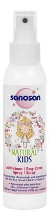 Спрей для волос детский Sanosan Для легкого расчесывания волос 125 мл