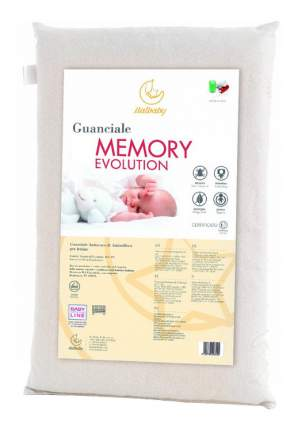 Подушка детская Italbaby Memory Evolution 38х58 белый