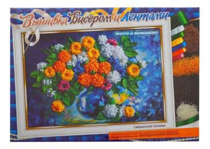 Вышивка для детей Danko Toys Хризантемы
