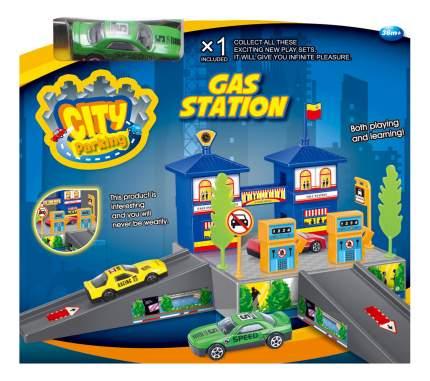 Парковка игрушечная Dave Toy Заправочная станция
