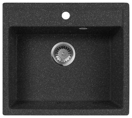 Мойка для кухни гранитная AquaGranitEx m-56 черный