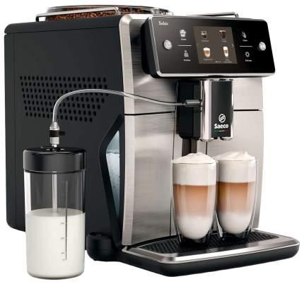 Кофемашина автоматическая Saeco Xelsis SM7683/00 Inox/Black