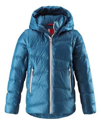 Куртка Reima пуховая 2 в 1 для мальчика Martti синяя 158 размер