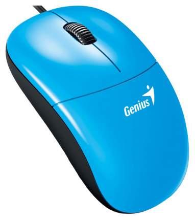 Проводная мышка Genius DX-135 Cyan/Black (31010236102)