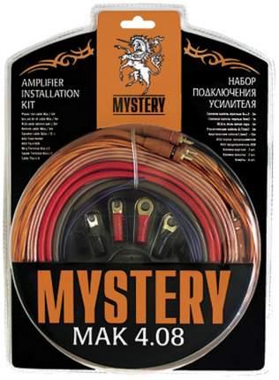Комплект проводов для подключения усилителя Mystery MAK 4.08