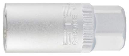"Головка торцевая свечная, 12-гранная,16 мм, под квадрат 1/2"" // STELS 13636"