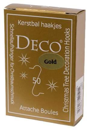 Крючок для елочных украшений Kaemingk 400009 Золотистый