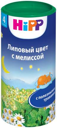 Чай HiPP Липовый цвет с мелиссой с 4 мес 200 г
