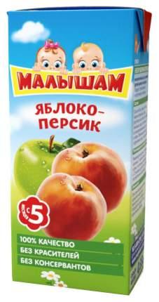 Нектар Малышам Яблоко и персик с 5 мес 330 мл