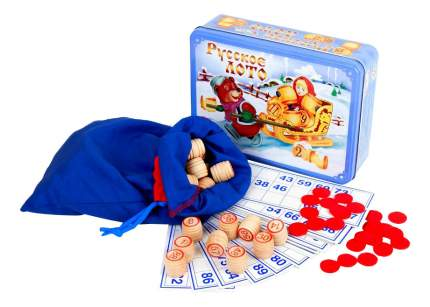 Настольная игра Русское лото Масленица Тридевятое царство 1778
