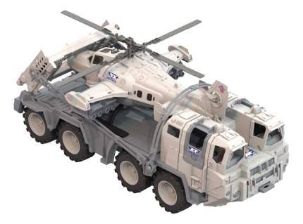 Машина военная Нордпласт Военный тягач Арктика с Вертолетом