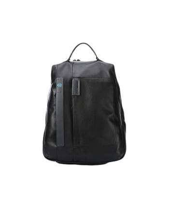 Рюкзак кожаный Piquadro CA3349P15 черный 40 л