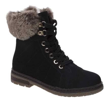 Ботинки чёрные р. 33 Keddo 578180/10-01