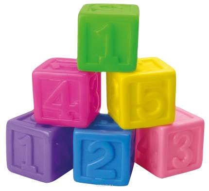 Игрушка для купания BebeLino Кубики с цифрами 130917