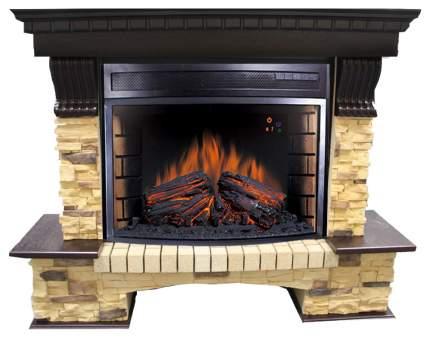 Электрокамин Royal Flame Pierre Luxe с очагом Panoramic 25 Коричневый; Черный