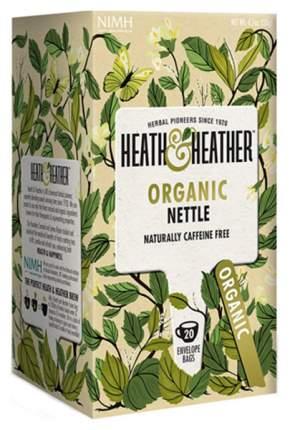 Напиток травяной Heath&Heather крапива органик 20 пакетиков