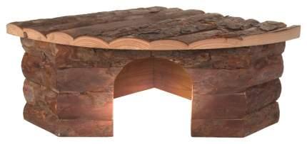 Домик для грызуна TRIXIE дерево, 30х15х42см, цвет коричневый