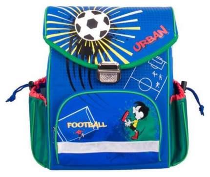 Рюкзак детский Gulliver Школьный футбол синий M8