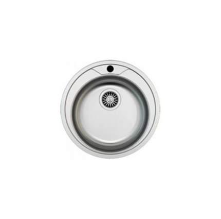 Мойка для кухни из нержавеющей стали Zigmund & Shtain KREIS 510,7 серебристый