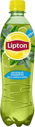 Чай зеленый Lipton лайм и мята 0.5 л