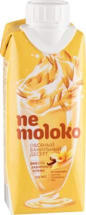 Напиток овсяный Ne moloko ванильный 10% 250 мл