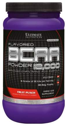 Ultimate Nutrition BCAA 12000 457 г фруктовый пунш
