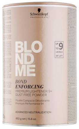 Обесцвечивающая Бондинг-пудра Schwarzkopf Blondme Bond Premium Lightener 450 мл