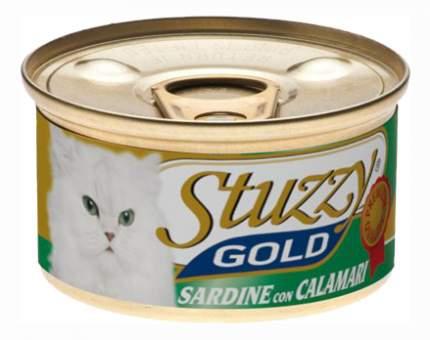 Консервы для кошек Stuzzy Gold, сардина, 24шт по 85г